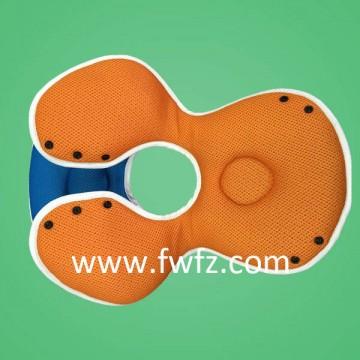 Diseño nuevo de la almohada de tela de malla para bebé